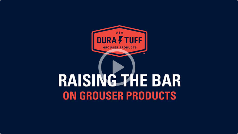 Raising the Bar on Grouser Products, Youtube video